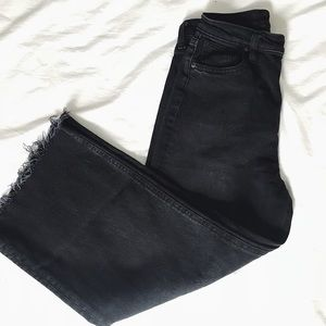 Urban Outfitters BDG Flood Wide Leg Jeans